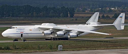 An-225 Mryia at Kiev, Ukraine, September 27, 2008